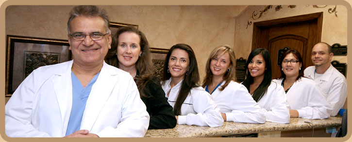 Image: Dr. Naghman Qureshi and the friendly staff at Conway Dental